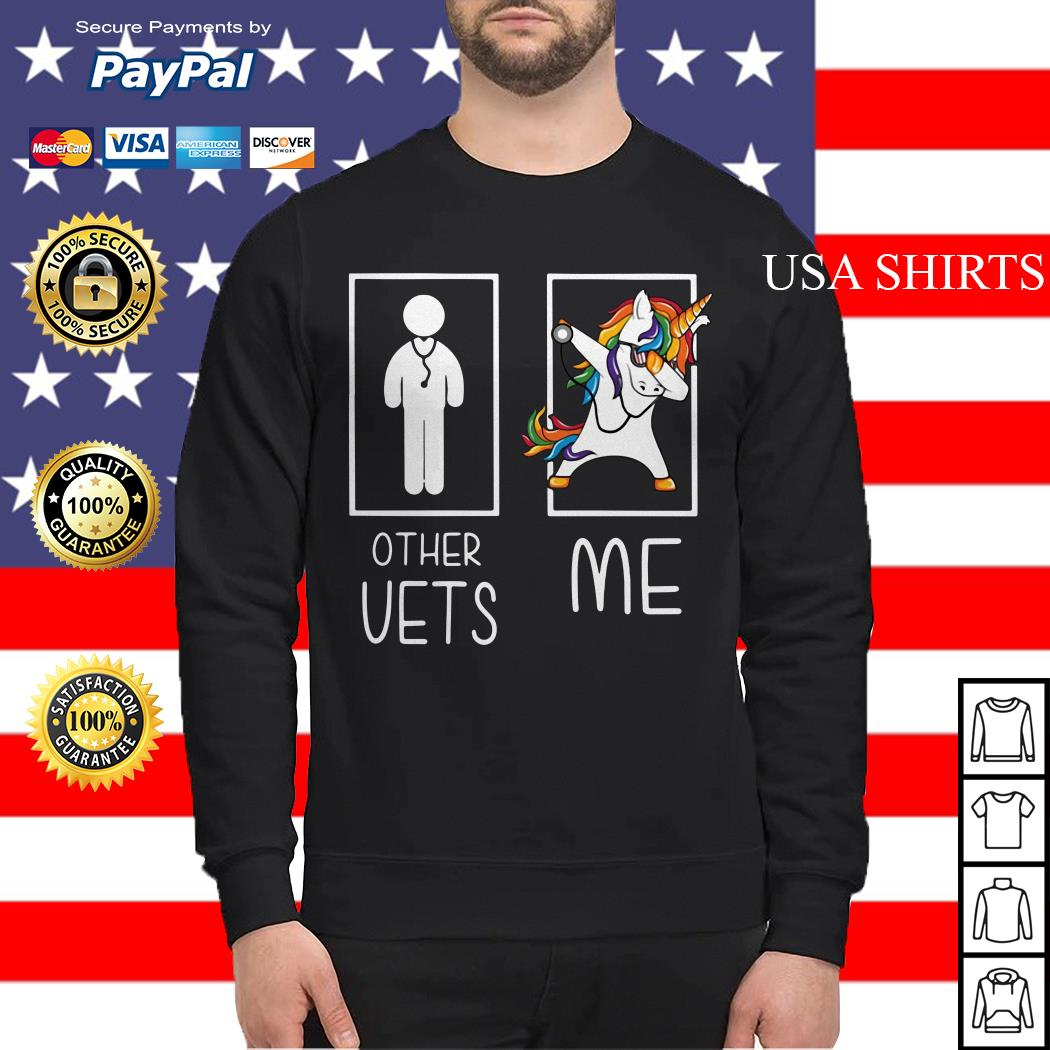 Doctor unicorn dabbing other vets me Sweater