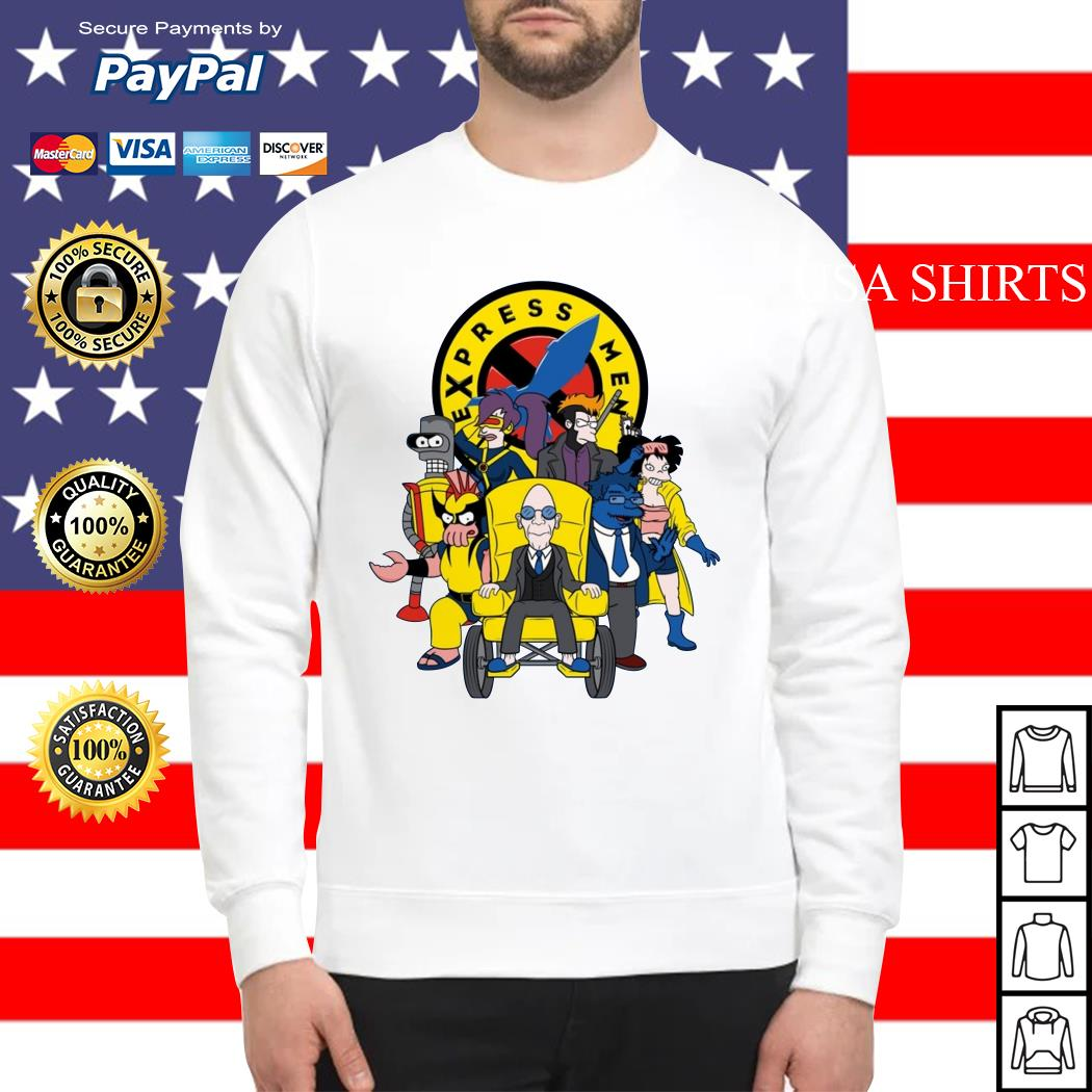 Express Men futurama X-Men Sweater