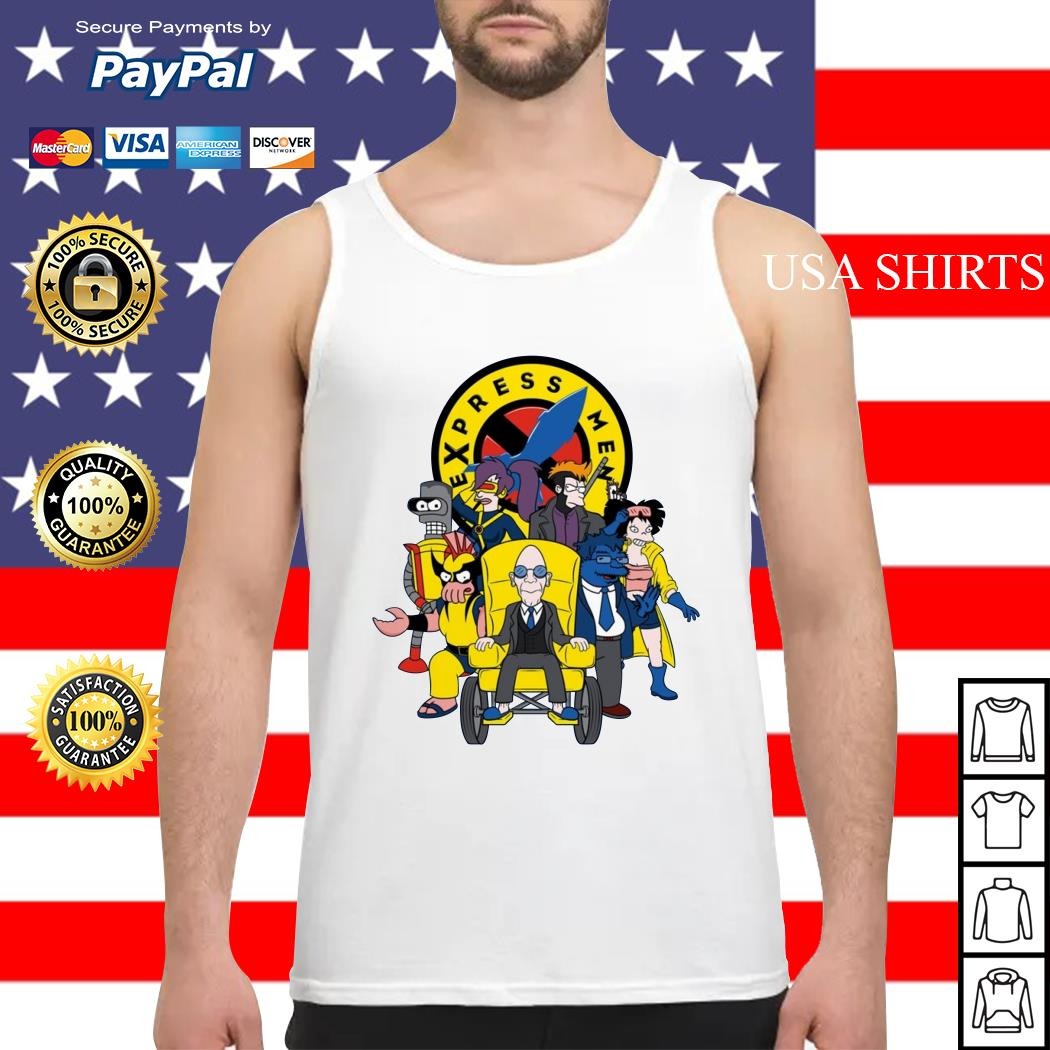 Express Men futurama X-Men Tank top