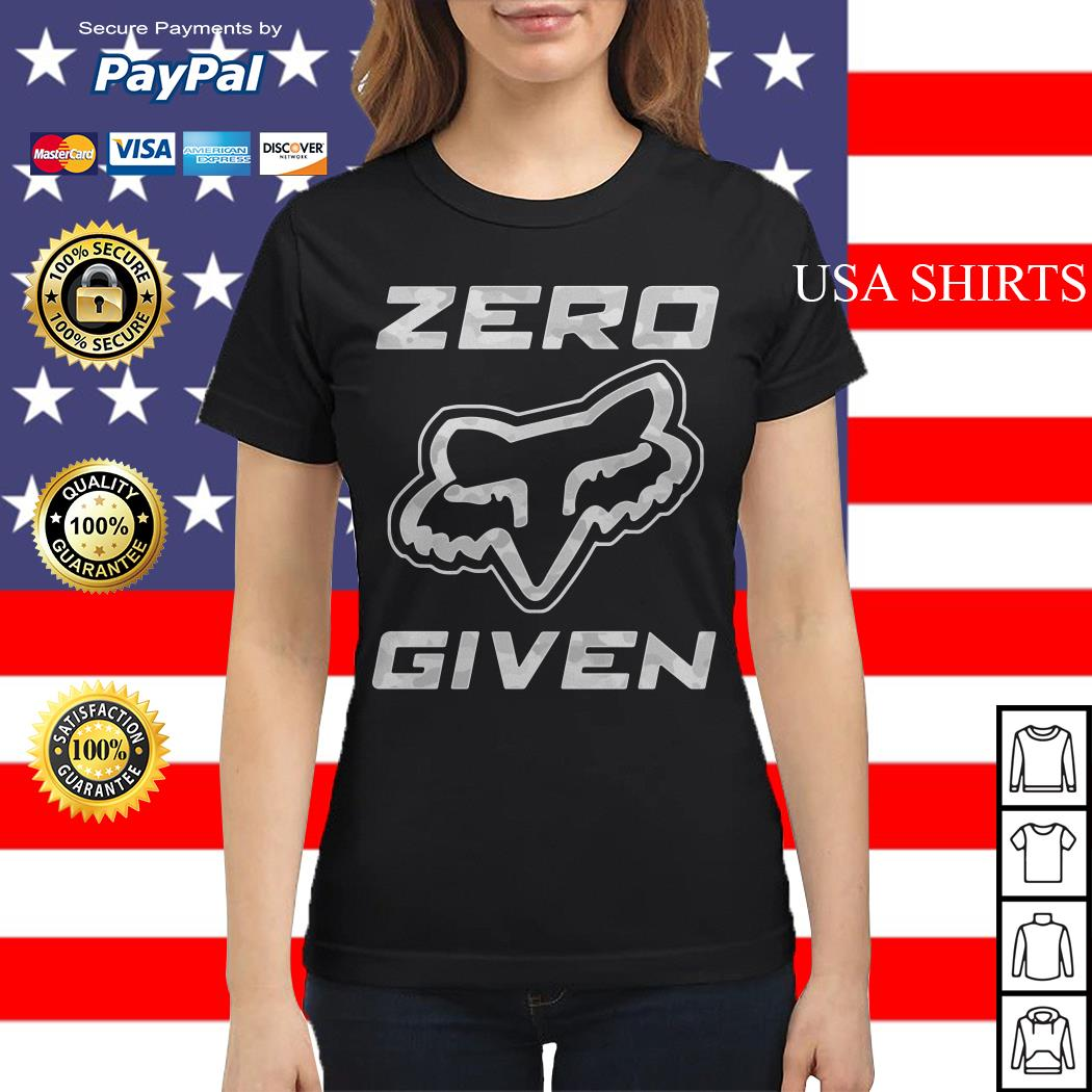Fox racing Zero given Ladies tee