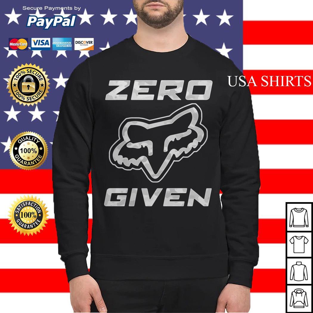 Fox racing Zero given Sweater
