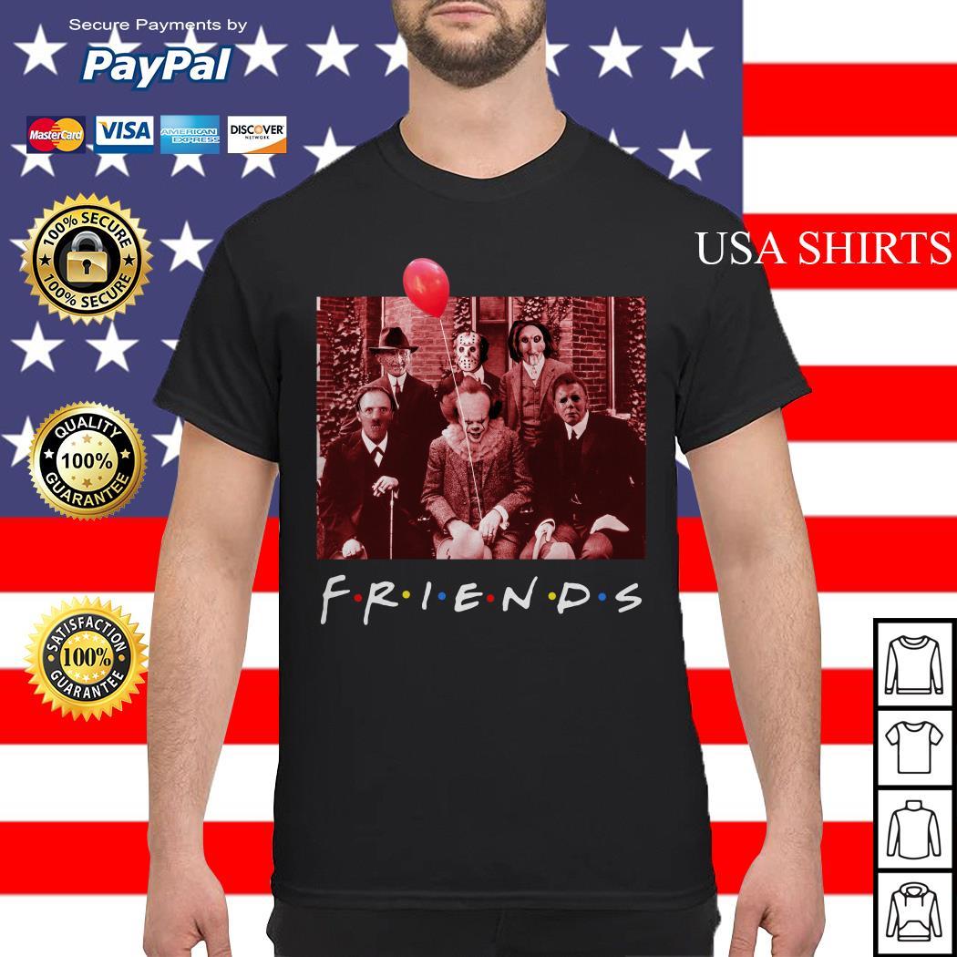 Friends TV show Horror character shirt