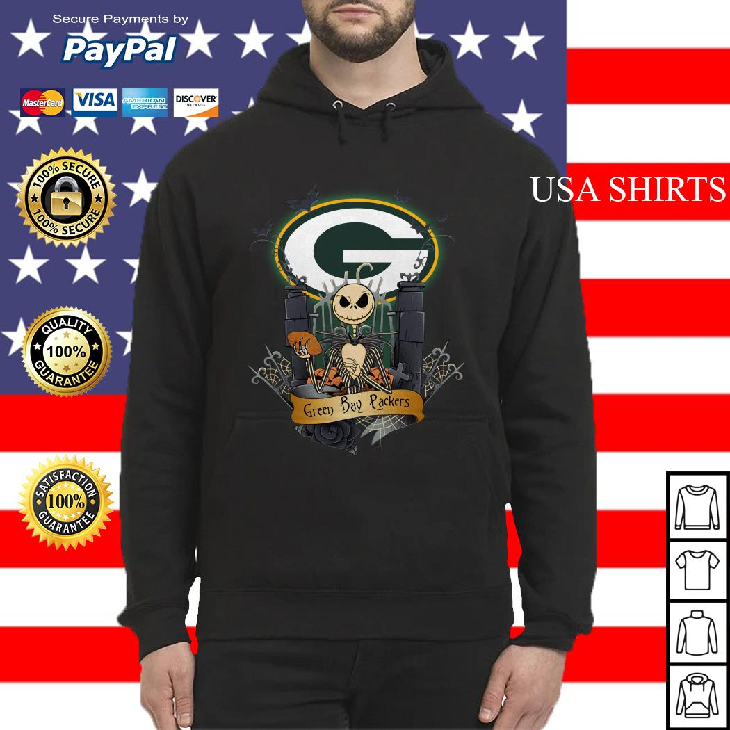 Green Bay Packers Jack Skellington this is Halloween NFL Hoodie