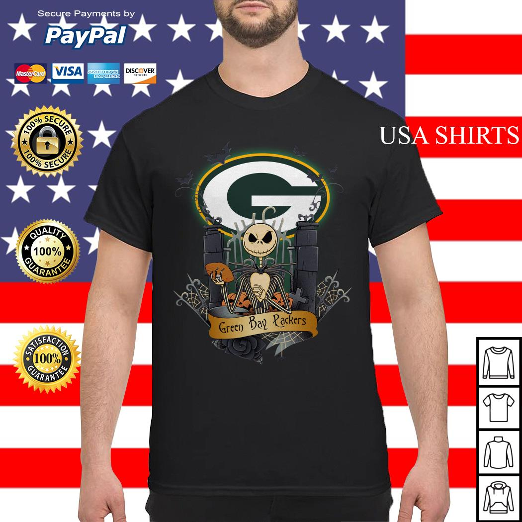 Green Bay Packers Jack Skellington this is Halloween NFL shirt