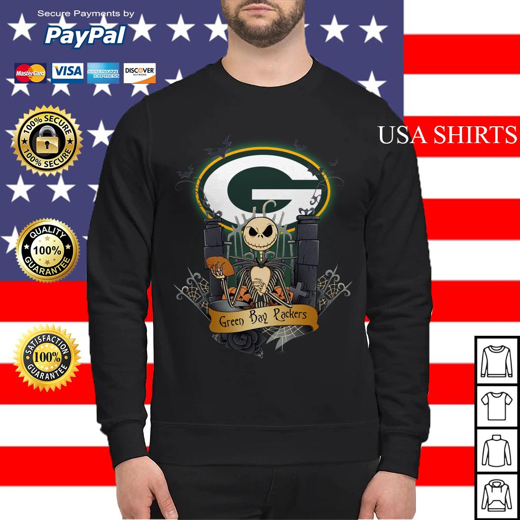 Green Bay Packers Jack Skellington this is Halloween NFL Sweater