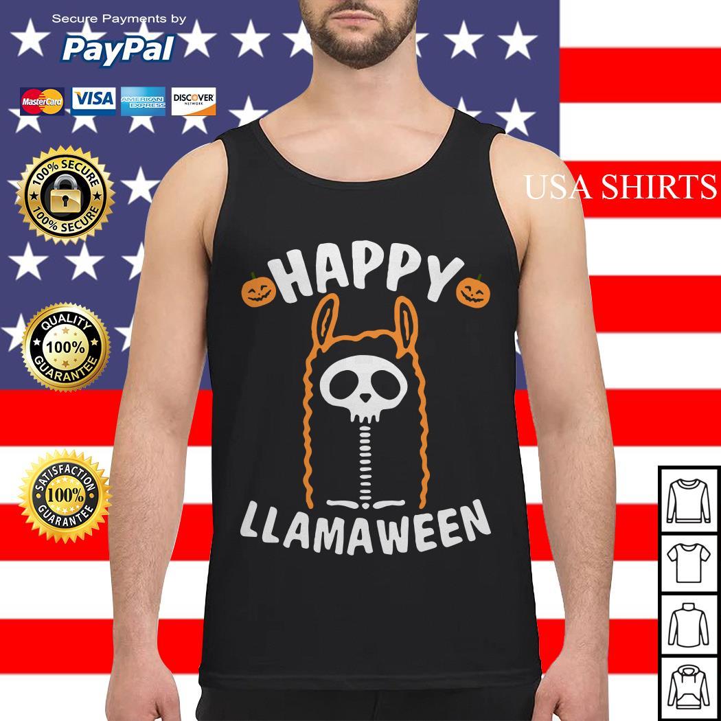 Happy Llamaween Halloween Tank top