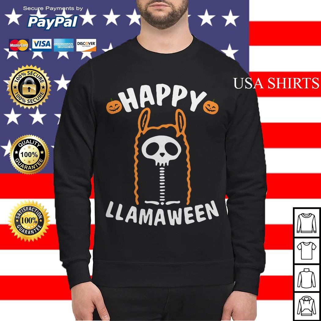 Happy Llamaween Halloween Sweater