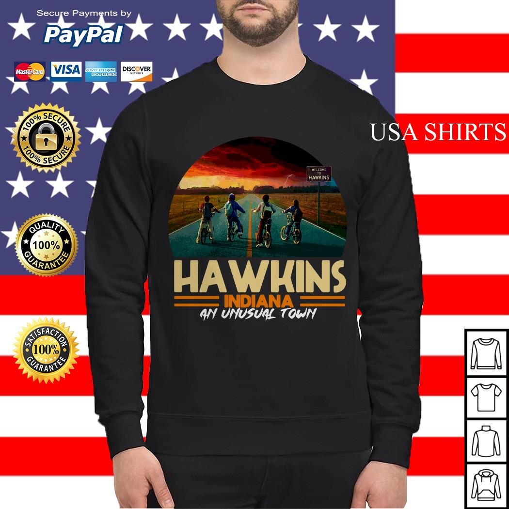 Hawkins indiana an unusual town Stranger Things Sweater