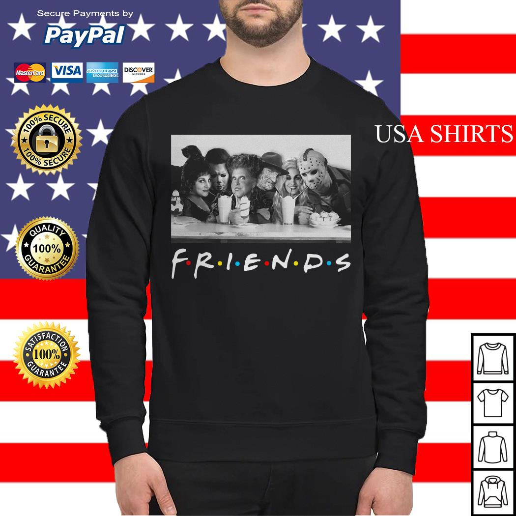 Hocus Pocus Horror Movie Friends TV Show Halloween Sweater