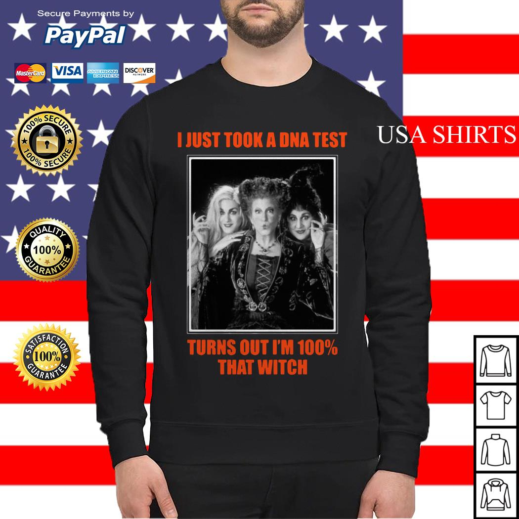I just took a DNA test turns out I'm 100 that witch Hocus Pocus Sweater
