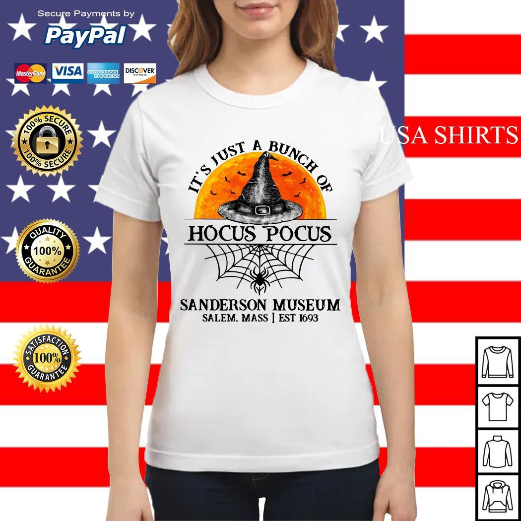 It's just a bunch of Hocus Pocus sanderson museum Ladies tee
