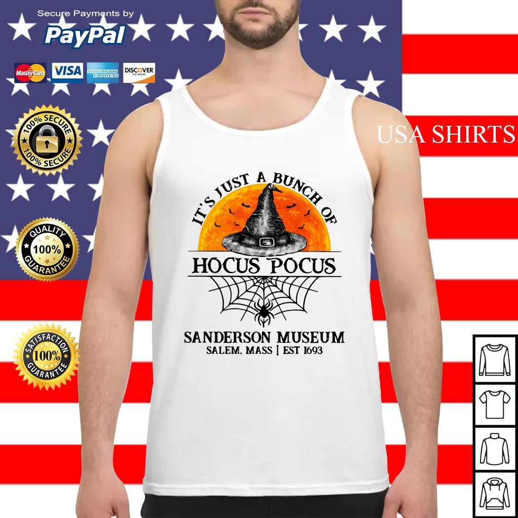 It's just a bunch of Hocus Pocus sanderson museum Tank top