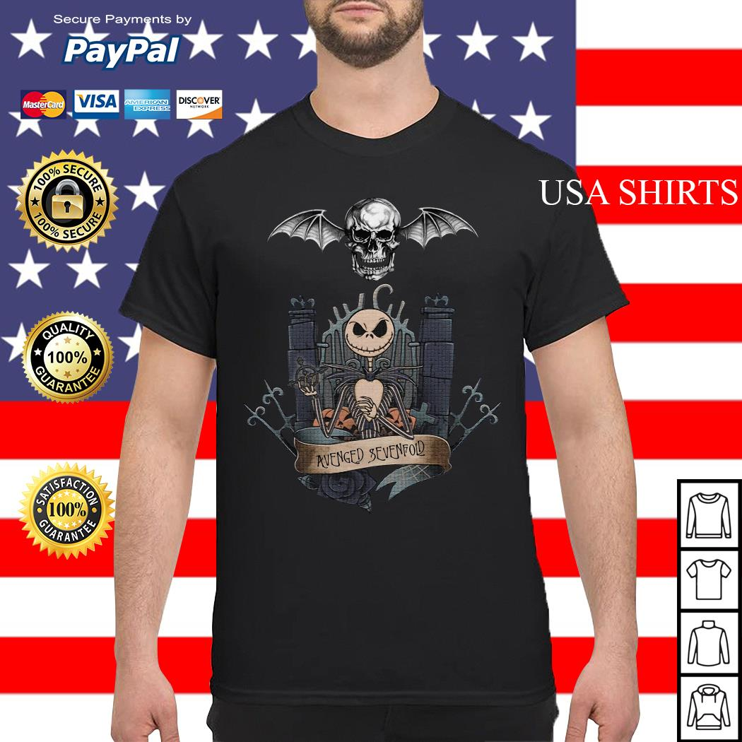 Jack Skellington Avenged Sevenfold shirt