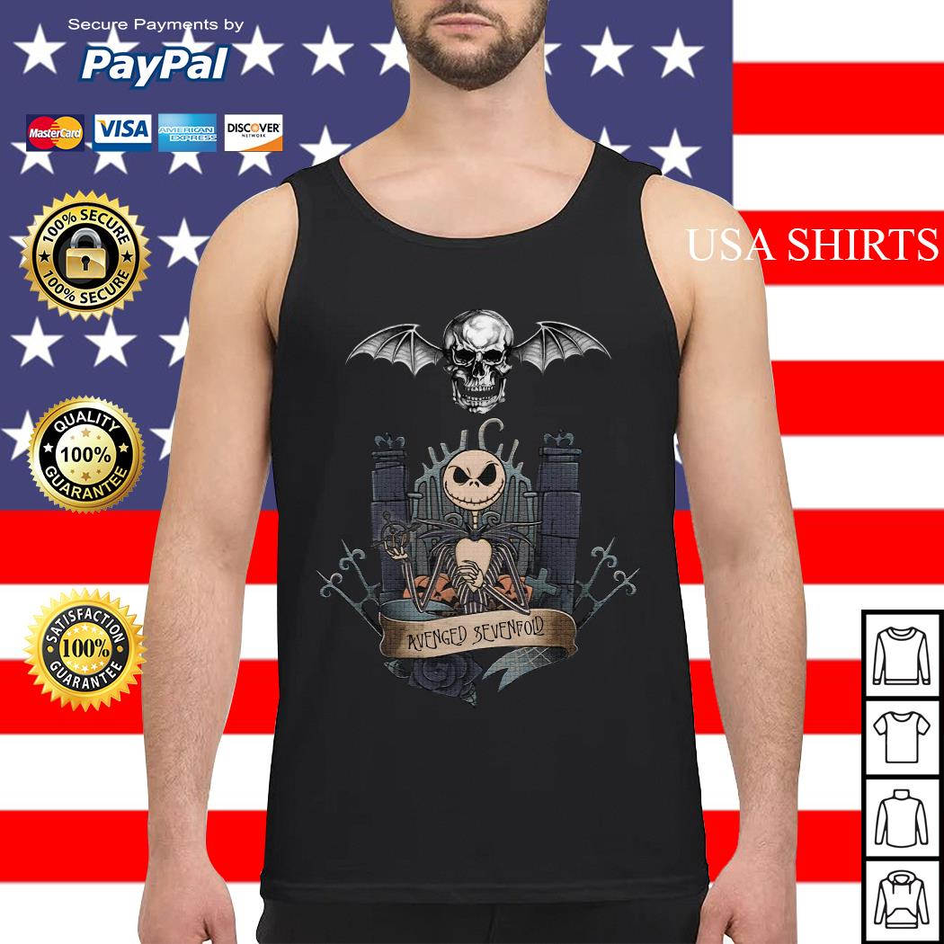 Jack Skellington Avenged Sevenfold Tank top