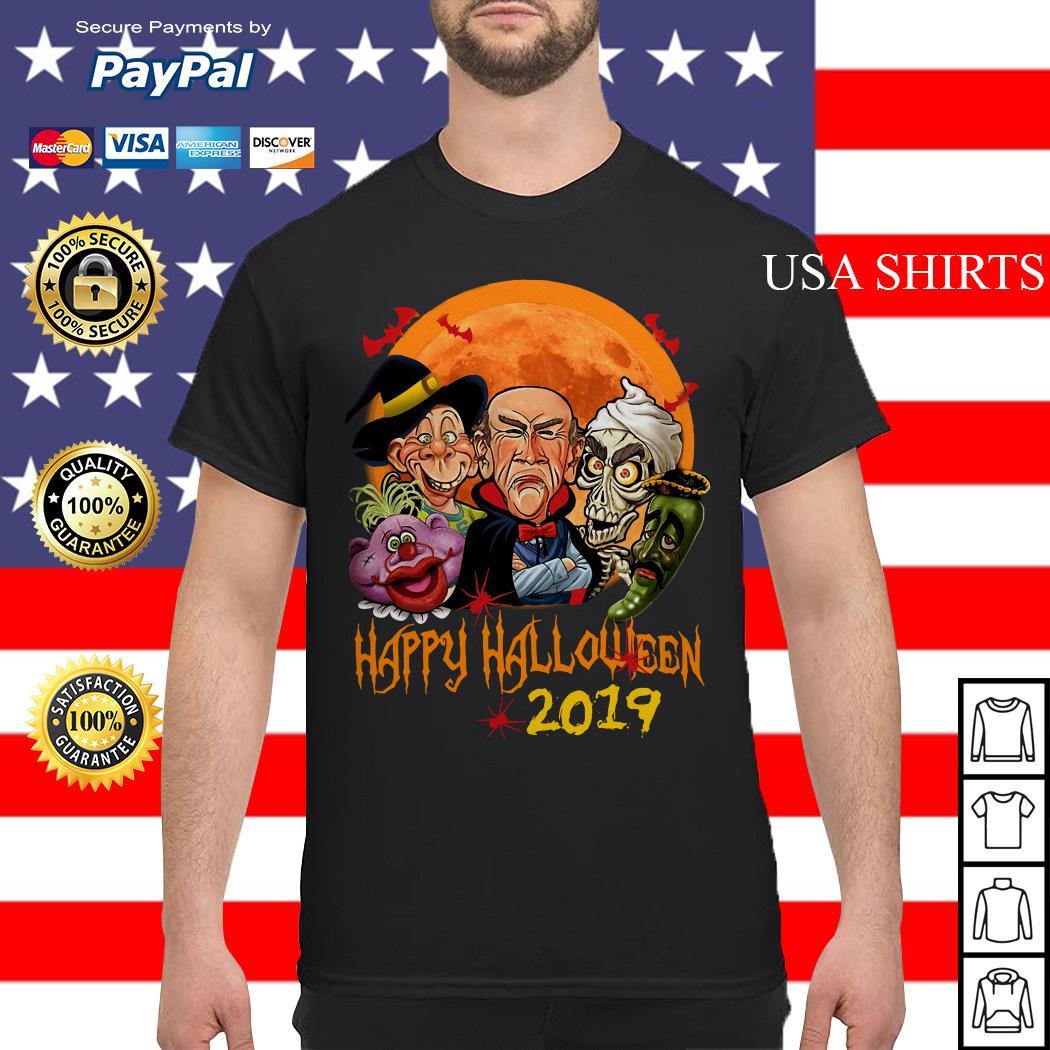 Jeff Dunham characters Happy halloween 2019 shirt