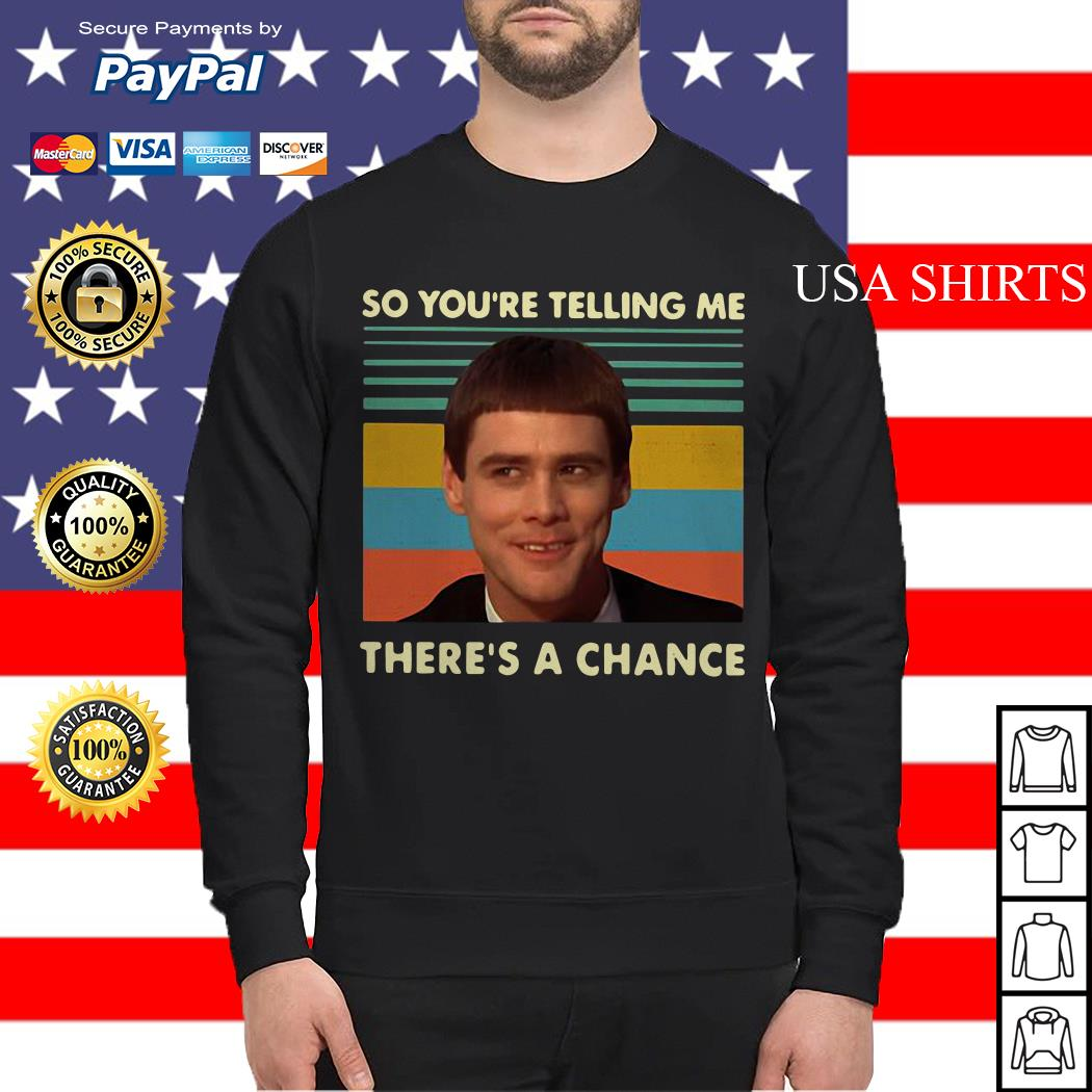 Jim Carrey so you're telling me there's a chance vintage Sweater