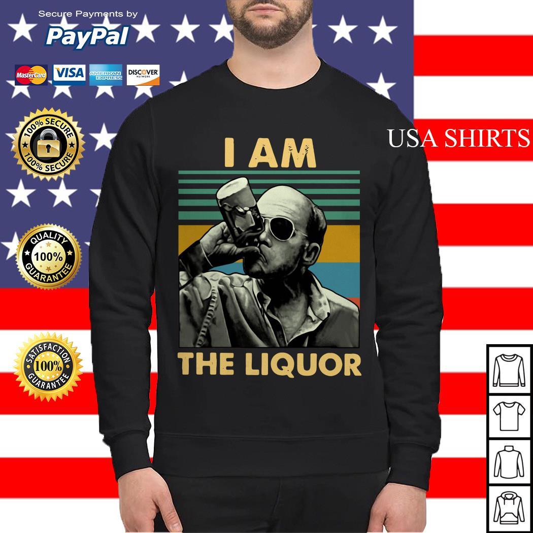 Jim Lahey I am the liquor vintage Sweater