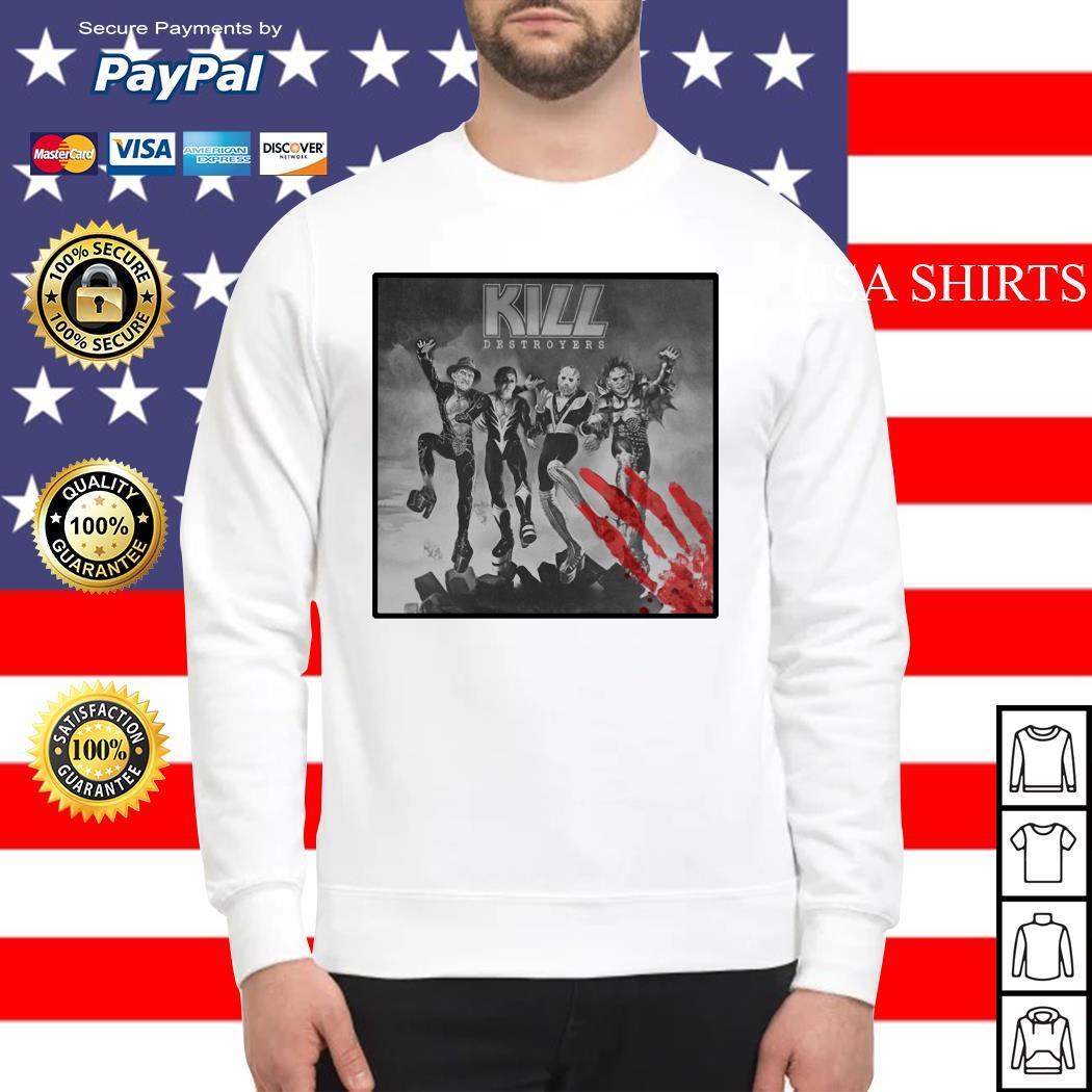 Kill Destroyers Halloween horror movie Sweater