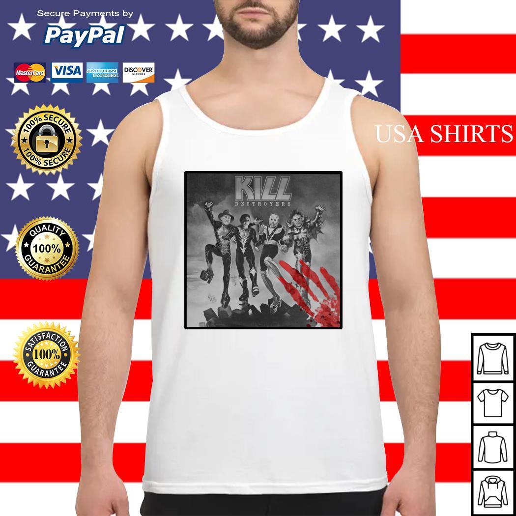 Kill Destroyers Halloween horror movie Tank top
