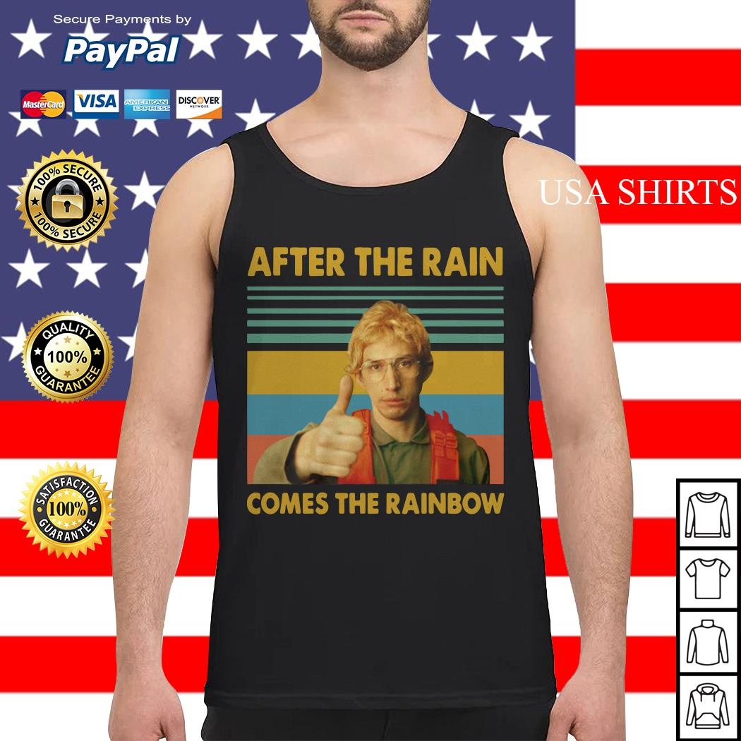 Kylo Ren Goes After the rain comes the rainbow vintage Tank top