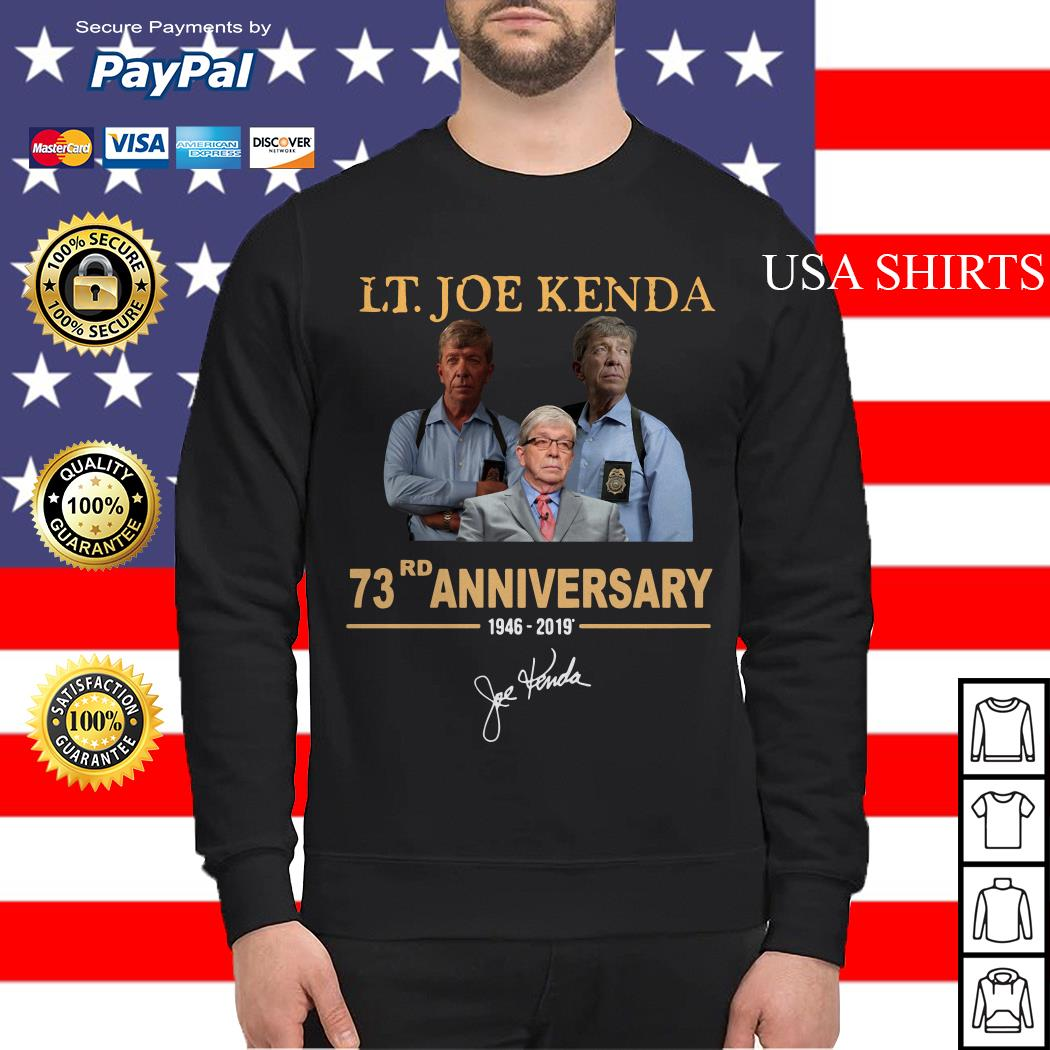 LT Joe Kenda 73rd Anniversary Sweater