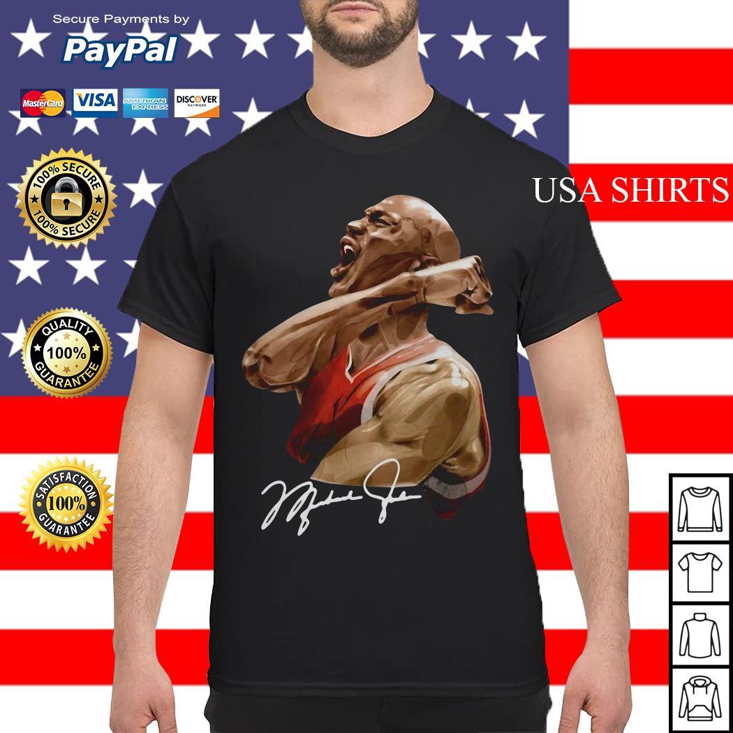 Michael jordan signature shirt
