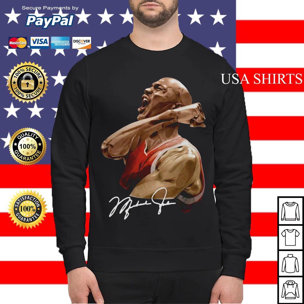 Michael jordan signature Sweater