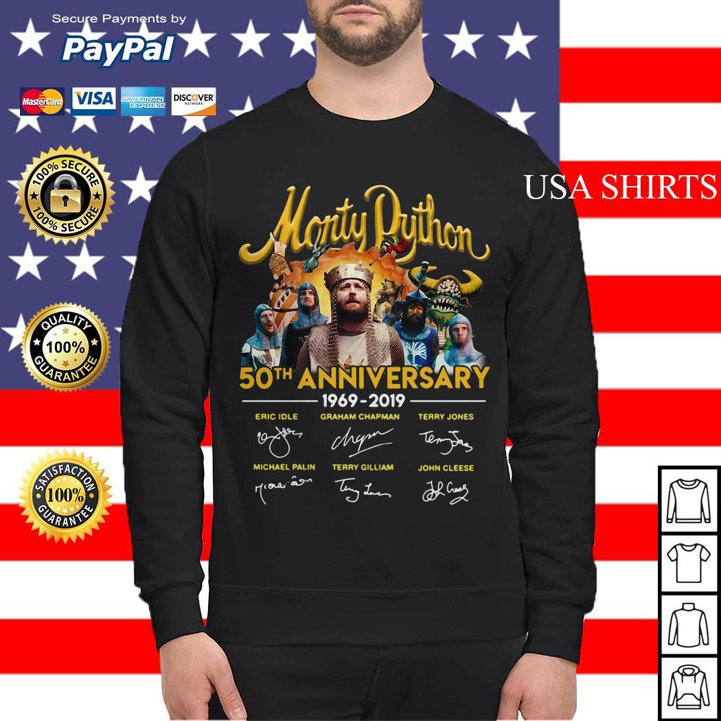 Monty Python 50th anniversary 1969 2019 signature Sweater