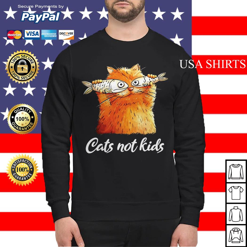 Official Cats not kids Sweater