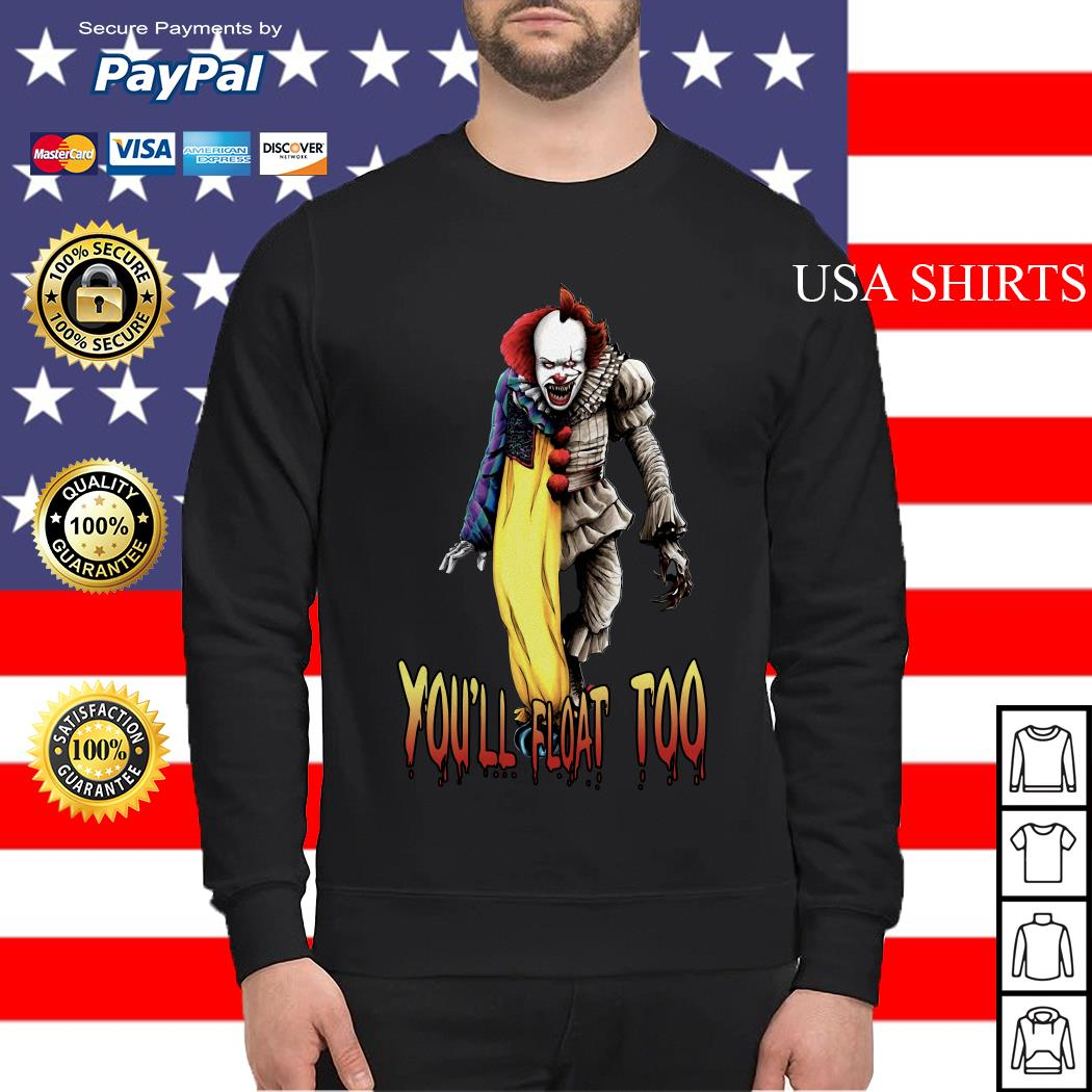 Pennywise you'll float too Sweater