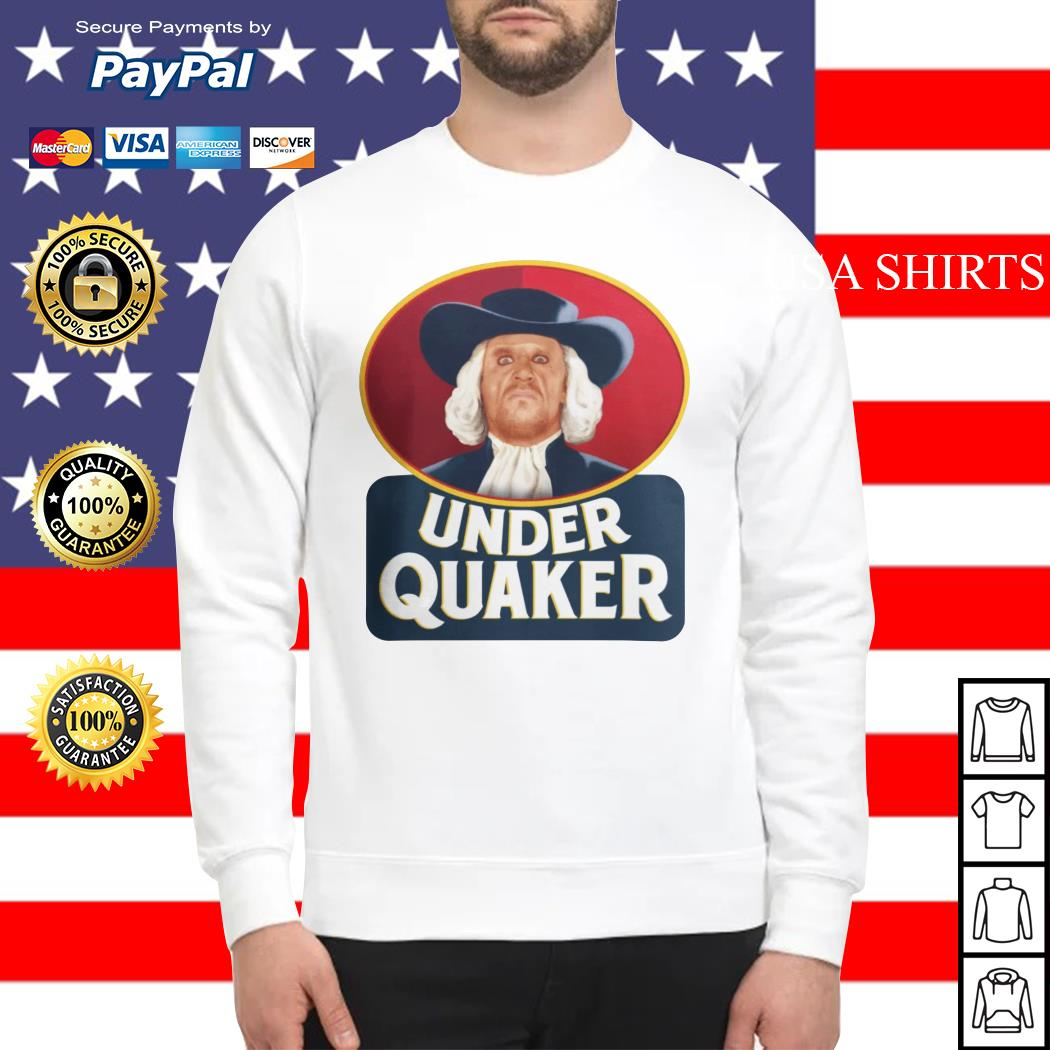 Quaker Oats Under Quaker Sweater