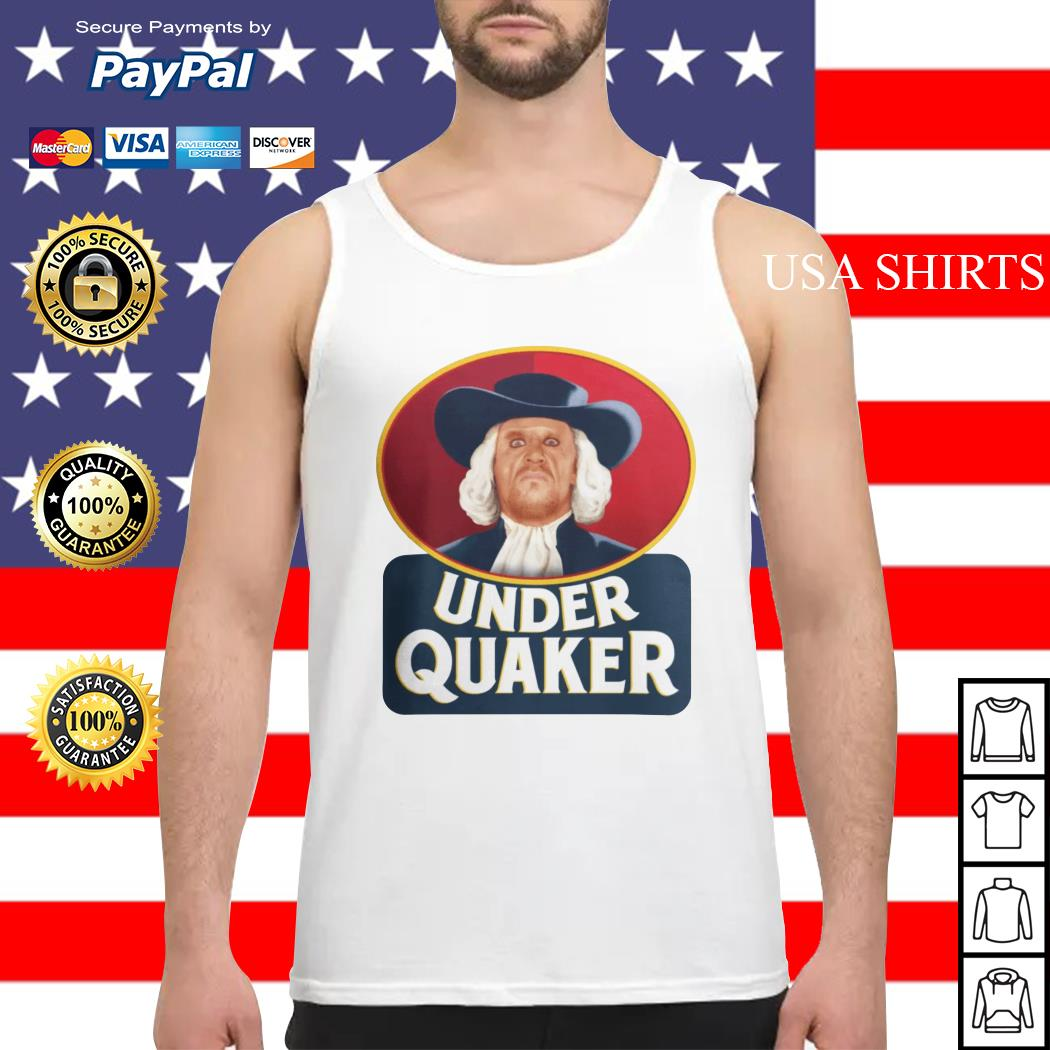 Quaker Oats Under Quaker Tank top