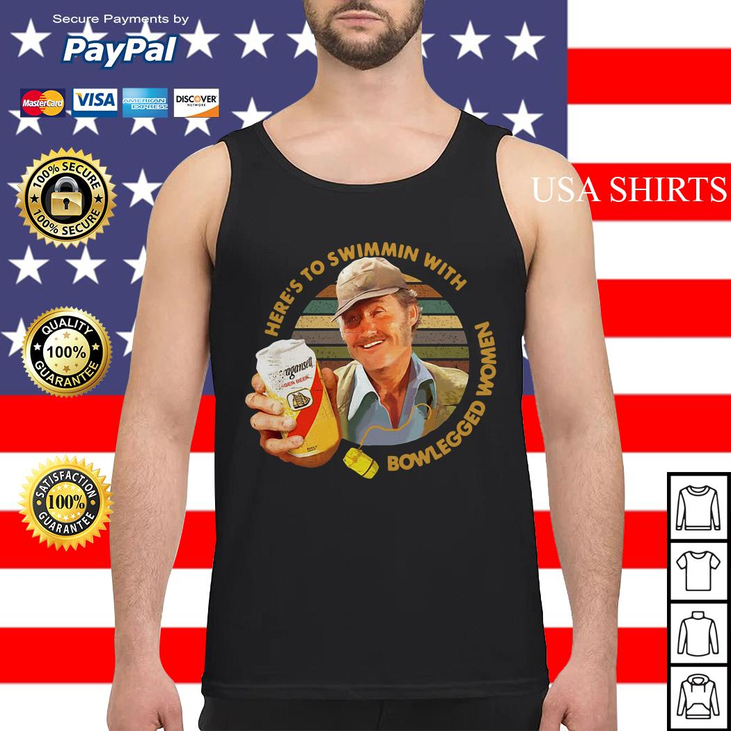 Quint Jaws Here's to swimmin with bowlegged women Tank top