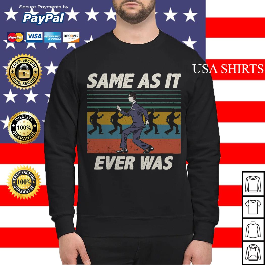 Same as it ever was vintage Sweater