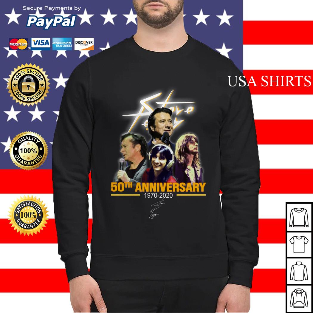 Steve Perry 50th anniversary 1970-2020 signature Sweater