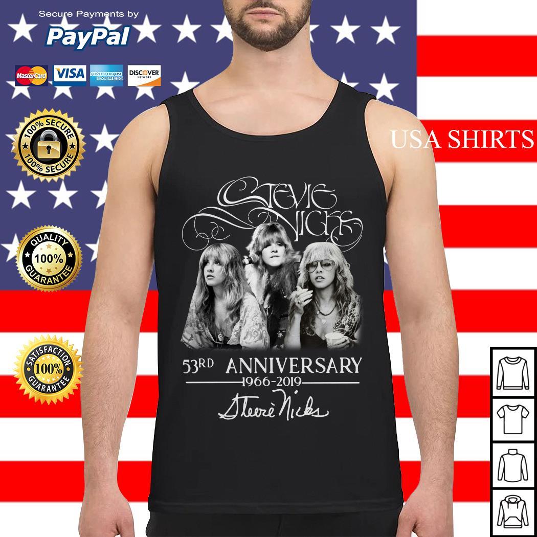 Stevie Nicks 53rd Anniversary 1966-2019 Tank top