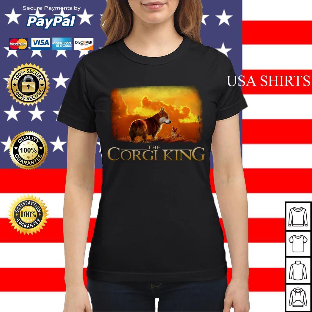 The Corgi King The Lion King Ladies tee