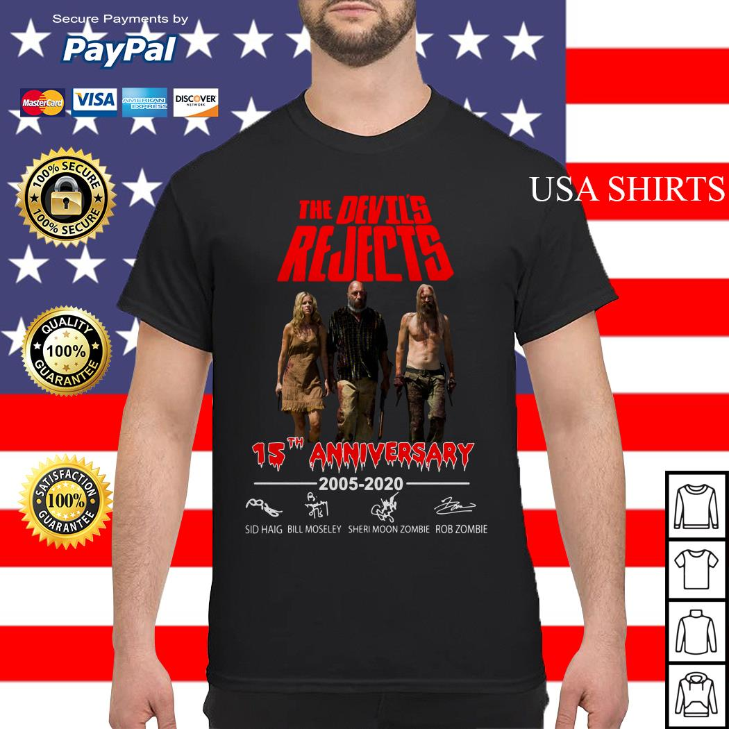 The Devil's Rejects 15th anniversary shirt