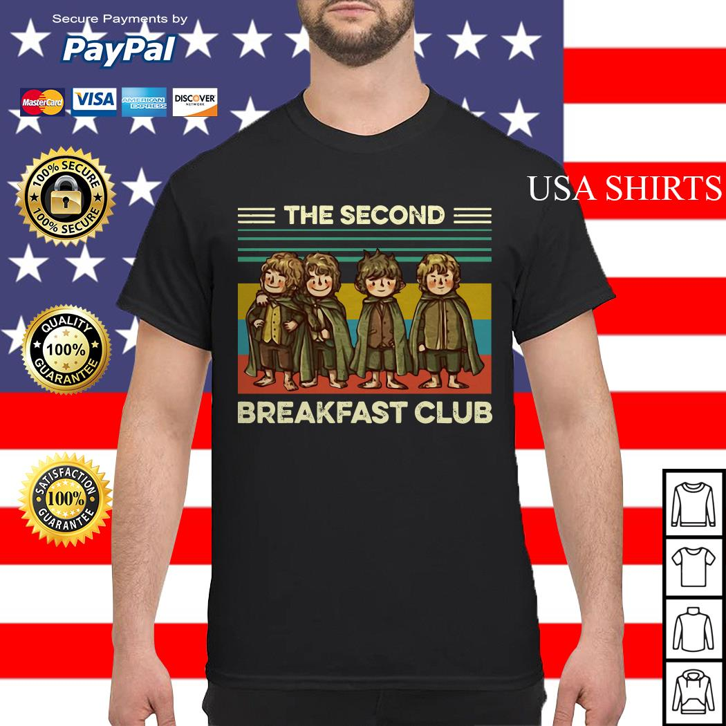 The Fellowship The Second Breakfast Club vintage shirt