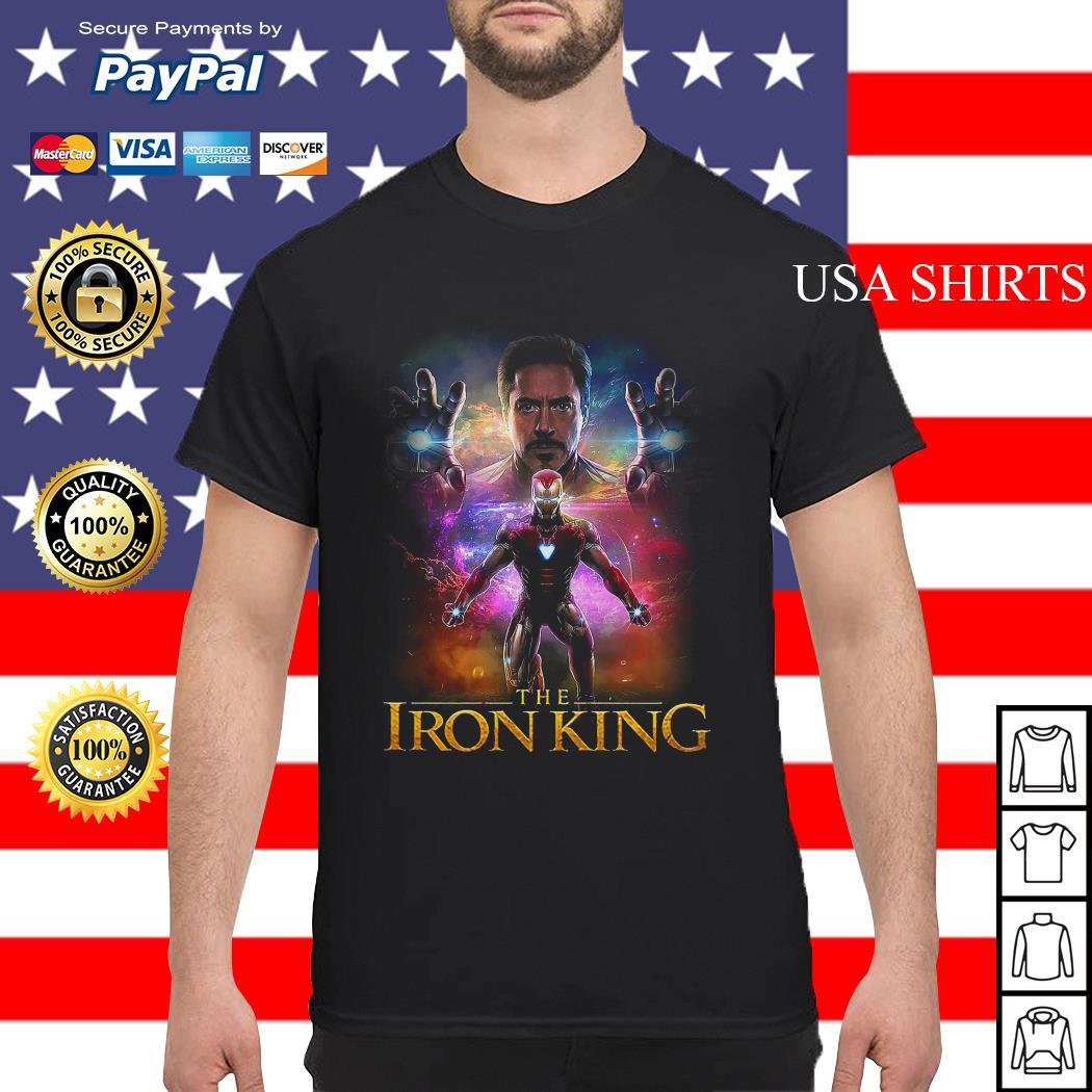 The Iron King Iron Man Avengers shirt