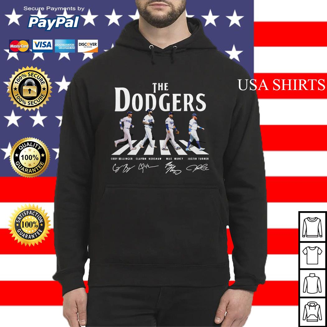 The Los Angeles Dodgers road signature Hoodie