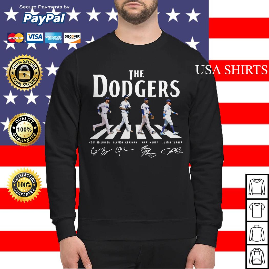 The Los Angeles Dodgers road signature Sweater