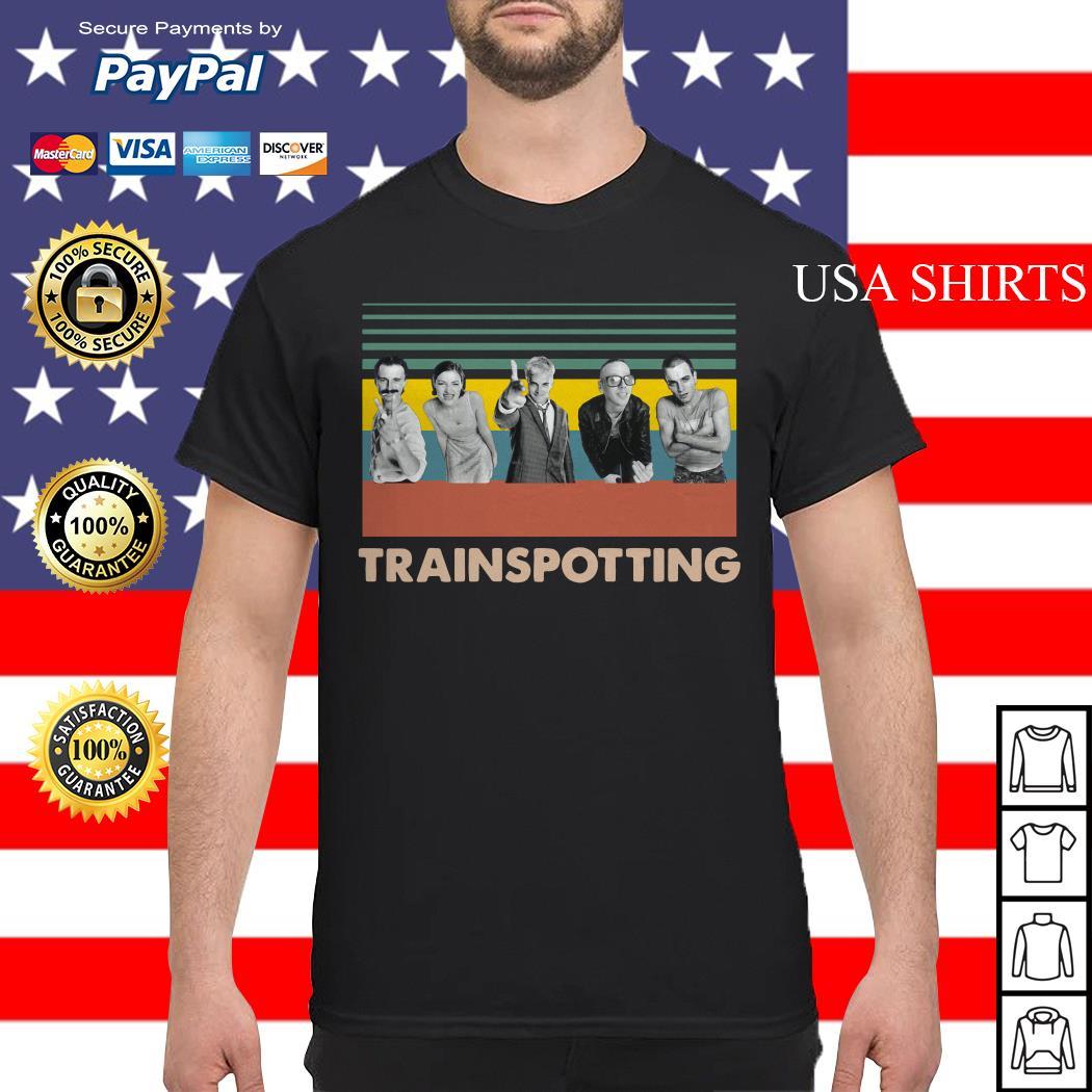 Trainspotting vintage shirt