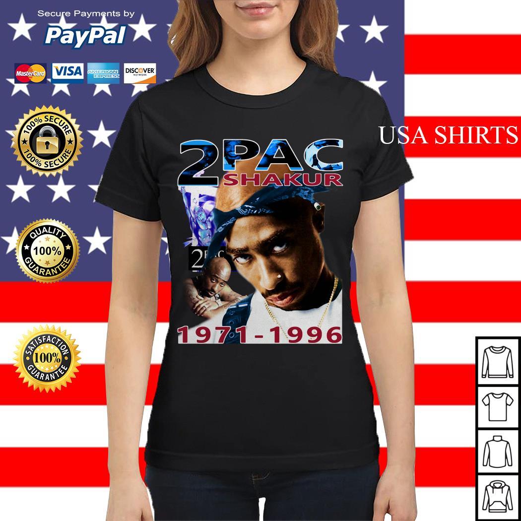 Tupac 2Pac Shakur 1971-1996 Ladies tee