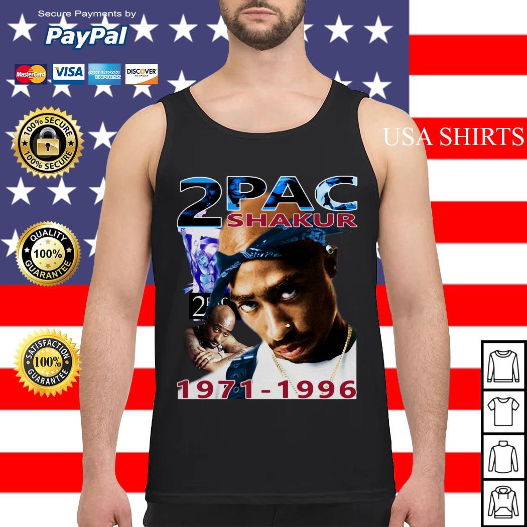 Tupac 2Pac Shakur 1971-1996 Tank top
