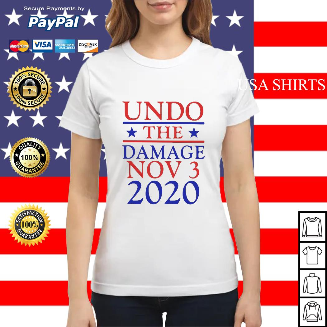 Undo the damage Nov 3 2020 Ladies tee
