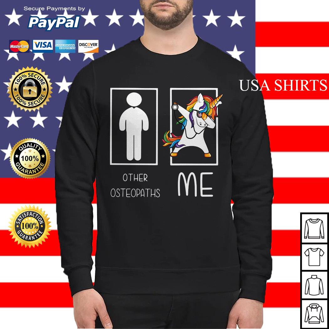 Unicorn dabbing Other Osteopaths me Sweater