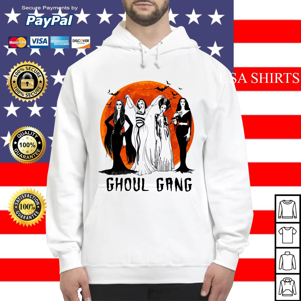 Vogue Ghoul Gang Halloween moon Hoodie