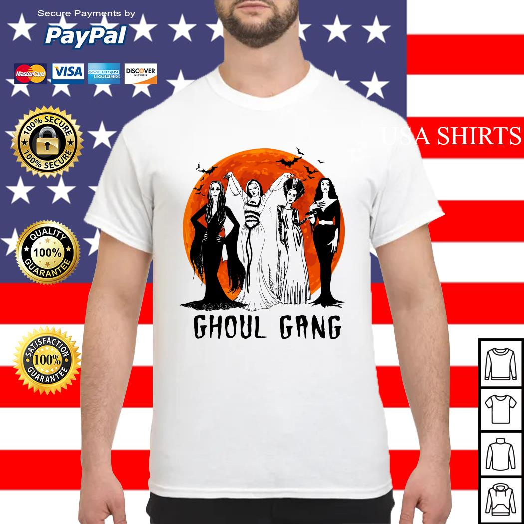 Vogue Ghoul Gang Halloween moon shirt