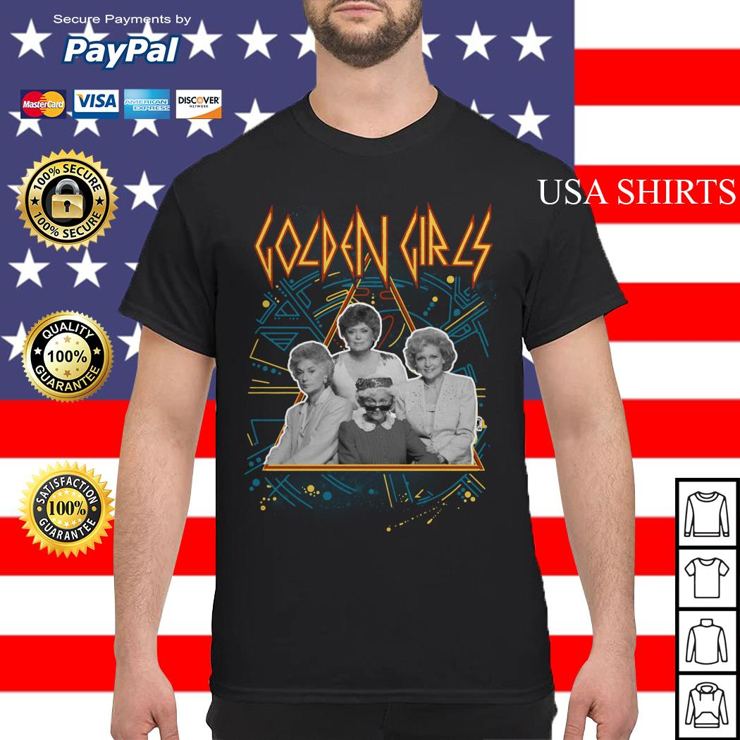 Def Leppard Golden Girls shirt